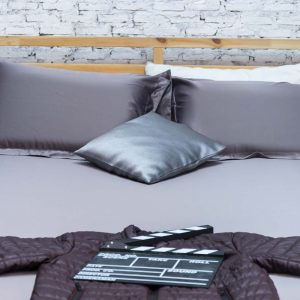 Dark brown Whizz bedding